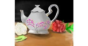 Teapot drawing by Bro 2.0😎