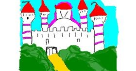 Drawing of Castle by Anita