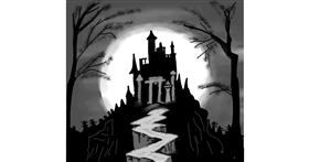 Drawing of Castle by Dreamer