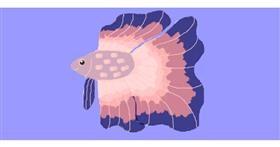 Fish drawing by Sorya