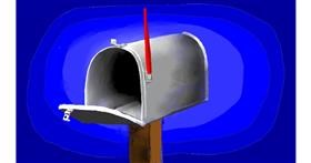 Drawing of Mailbox by SAM AKA MARGARET 🙄