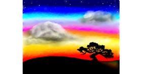 Drawing of Cloud by ELLE