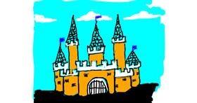 Drawing of Castle by Cherri