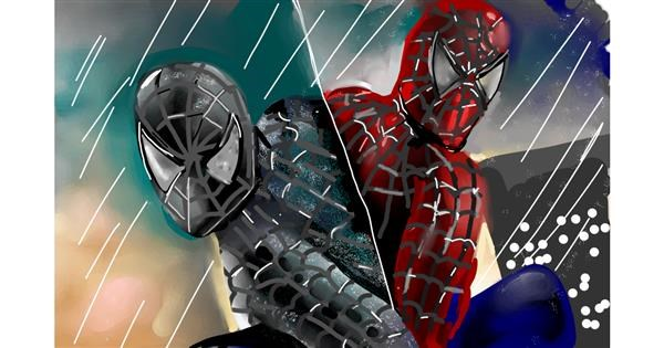 Spiderman drawing by Rose rocket