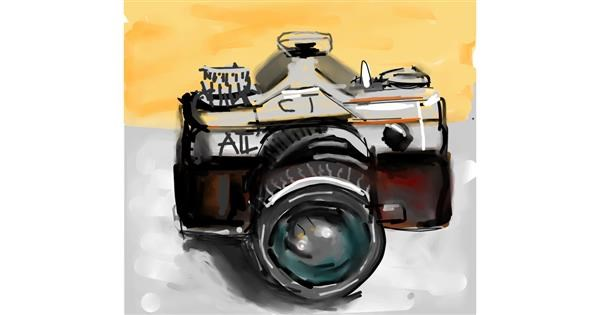 Camera drawing by Ankita Sharma