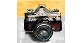 Drawing of Camera by Ankita Sharma