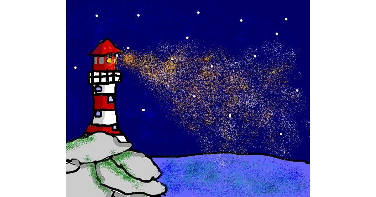 Drawing of Lighthouse by ;)