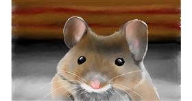 Drawing of Mouse by Tim