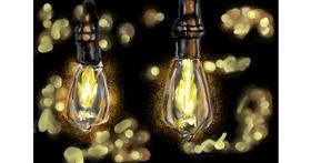 Light bulb drawing by Soaring Sunshine