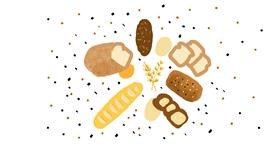 Drawing of Bread by Helena