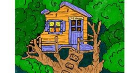 Drawing of Treehouse by InessaC