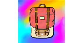 Backpack drawing by 🇭🇰 Acem Lam