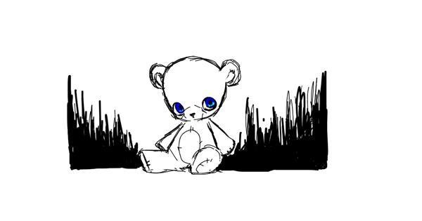 Bear drawing by meep