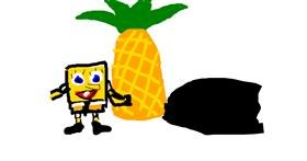 Pineapple drawing by snoots