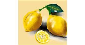 Lemon drawing by Shaurya 🇮🇳👳