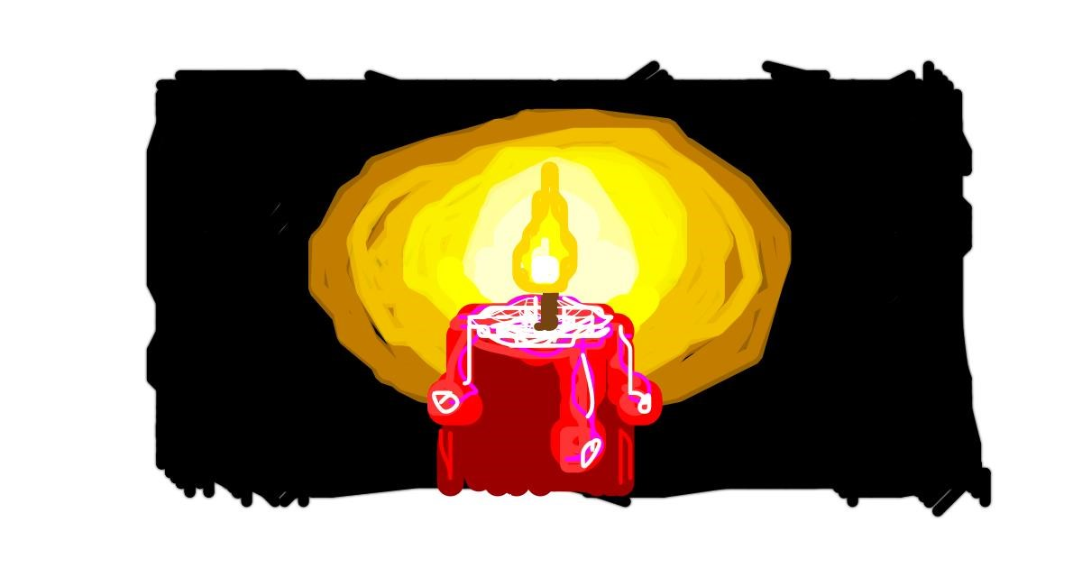 Candle drawing by 👁️ Shei 👁️