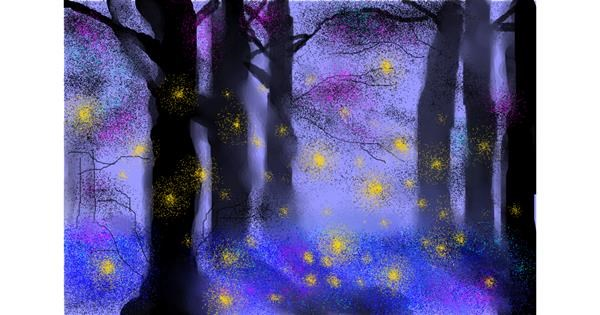 Forest drawing by :0