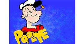 Popeye drawing by Debidolittle