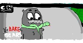Snake drawing by Orange Tortoise