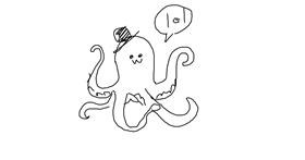 Octopus drawing by teaboi