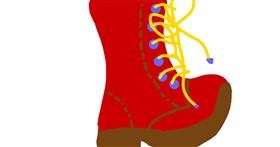 Boots drawing by Alexis