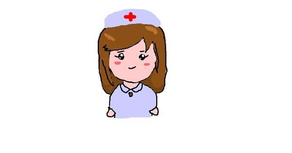 Nurse drawing by jegaevi