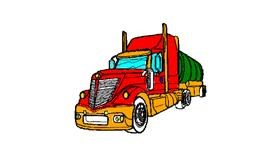 Drawing of Truck by Drawn