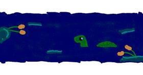 Tortoise drawing by Kennedy R. Allen