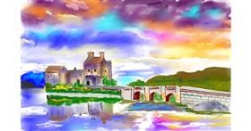 Castle drawing by GJP
