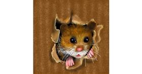 Drawing of Hamster by Leah