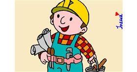 Drawing of Handyman by InessaC