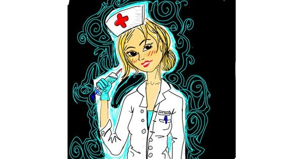Nurse drawing by 🦄Willie🦄