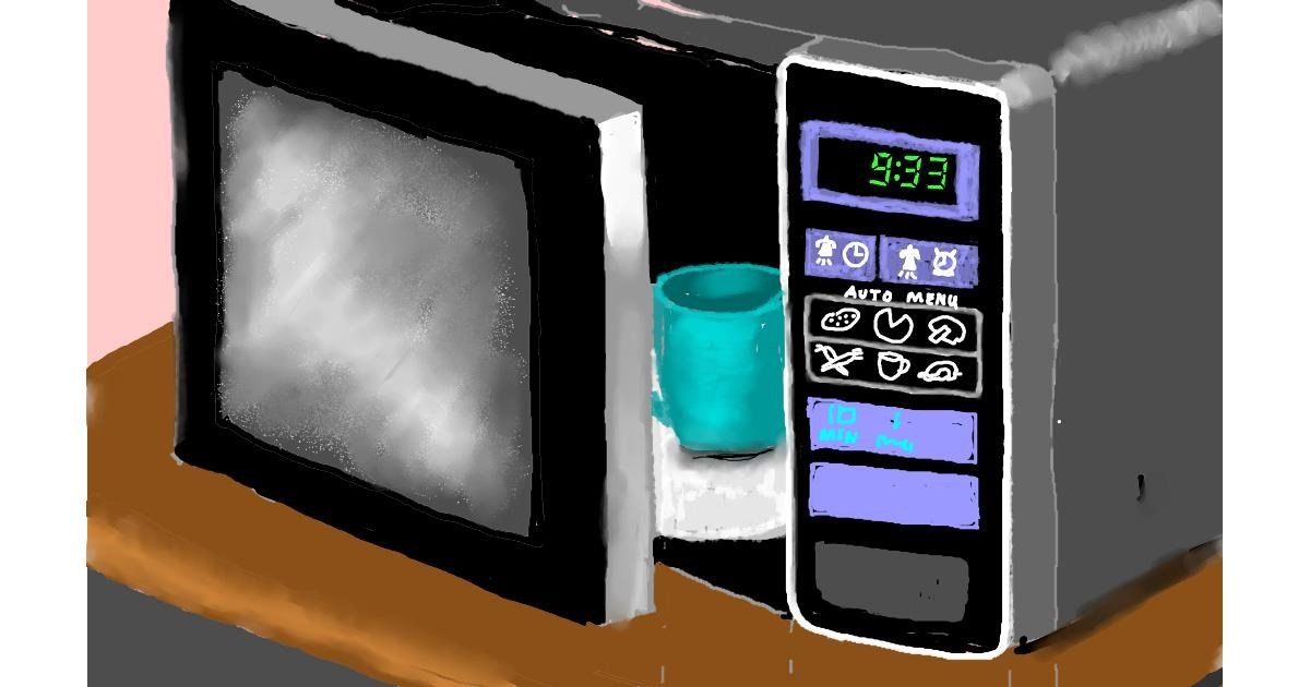 Microwave drawing by SAM AKA MARGARET 🙄