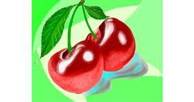 Cherry drawing by Yashi 🐢
