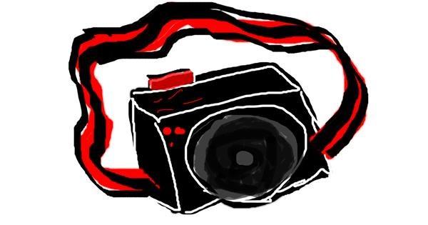 Camera drawing by ceci