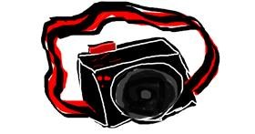 Drawing of Camera by ceci