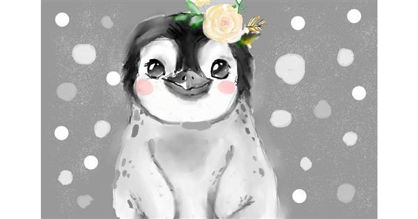 Penguin drawing by Luna lovegood