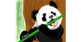 Bamboo drawing by Yashi 🐢