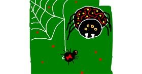 Drawing of Spider by Powersave Airlines