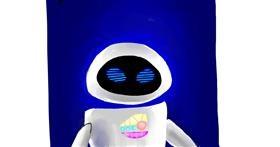 Robot drawing by Rose rocket