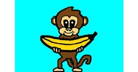 Banana drawing by Zane