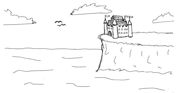 Castle drawing by owo what's this
