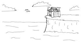 Drawing of Castle by owo what's this