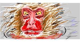 Drawing of Monkey by ✹Kawaii✼ (✹Computer✹)