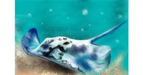 Drawing of Stingray by Wizard