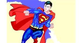 Superman drawing by GJP