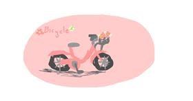 Bicycle drawing by ALISHA1211