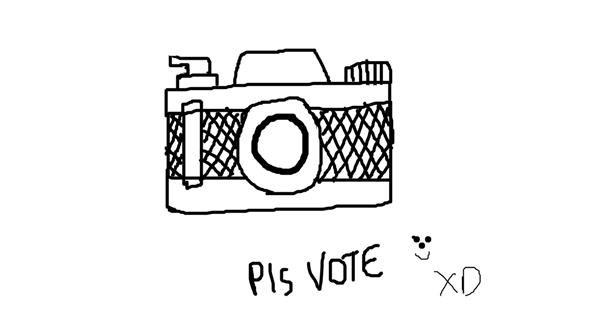 Camera drawing by anna