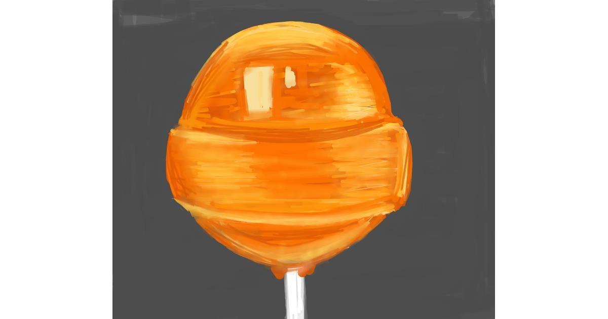 Lollipop drawing by Ellie Bean