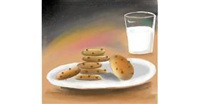 Drawing of Cookie by Zeemal